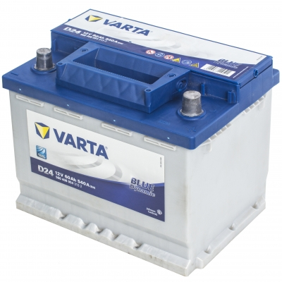 Аккумулятор Varta D24 Blue Dinamic 60Ah/540 прав.